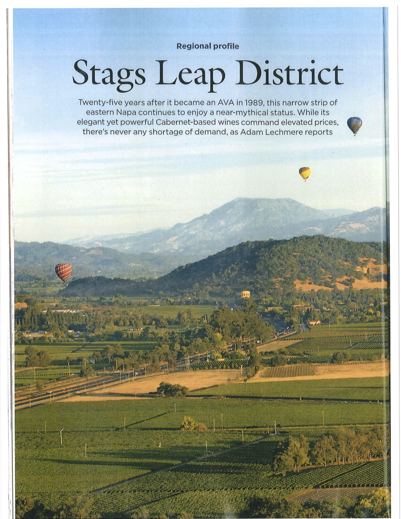 Decanter Profile of Stags Leap District